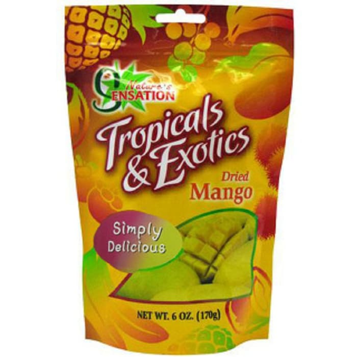 Natures Ensation Dry Fruit MangoTropicals & Exot Pouch Natural