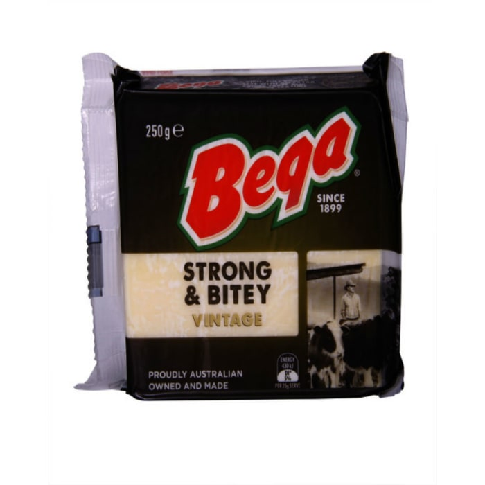 Beqa  Cheddar Block Strong & Bitey Vintage Cheese