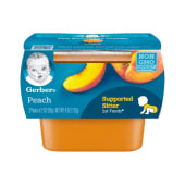 Gerber Peach Baby Pudding 113g