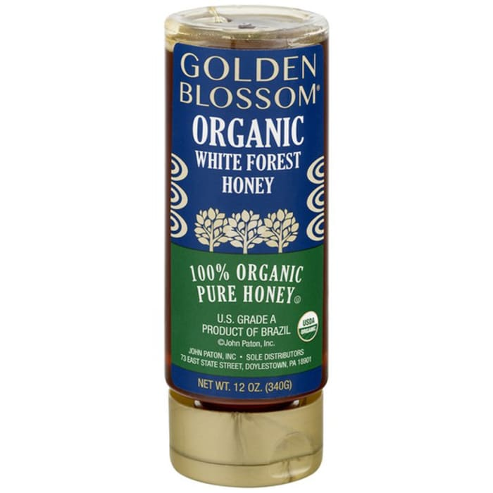 Golden Blossom Organic White Forest Honey