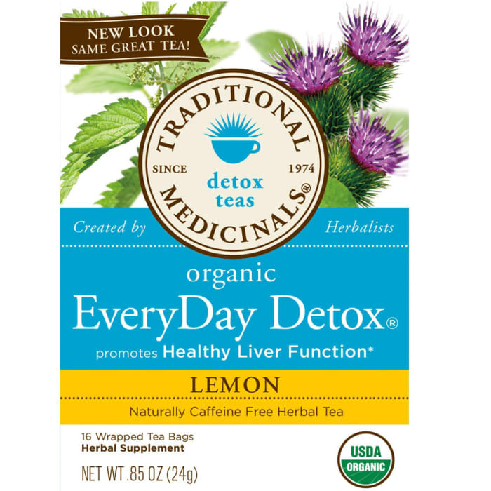 Traditional Medicinals Organic Everyday Detox Lemon Tea