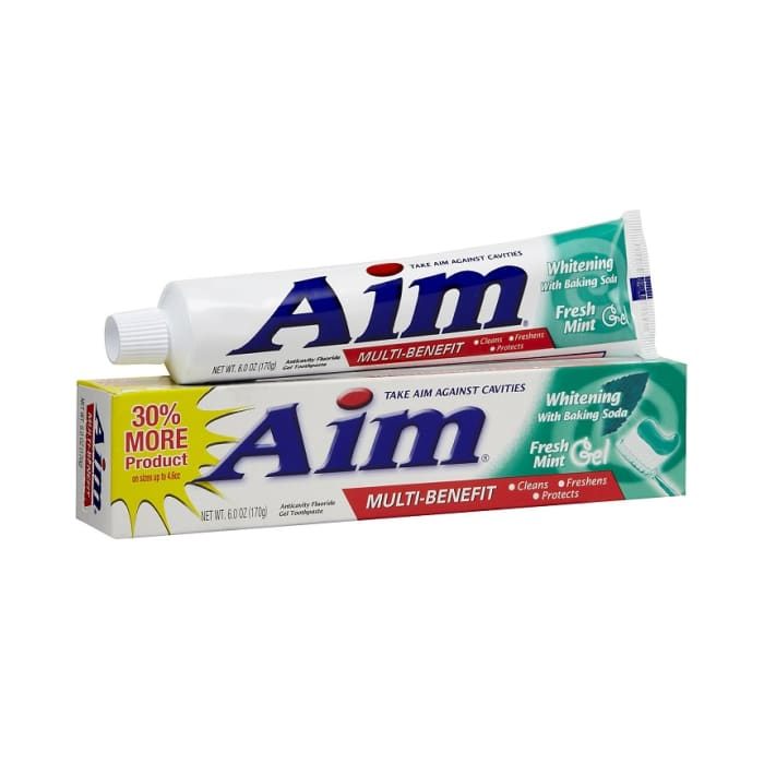 Aim Tooth Paste Fresh Mint