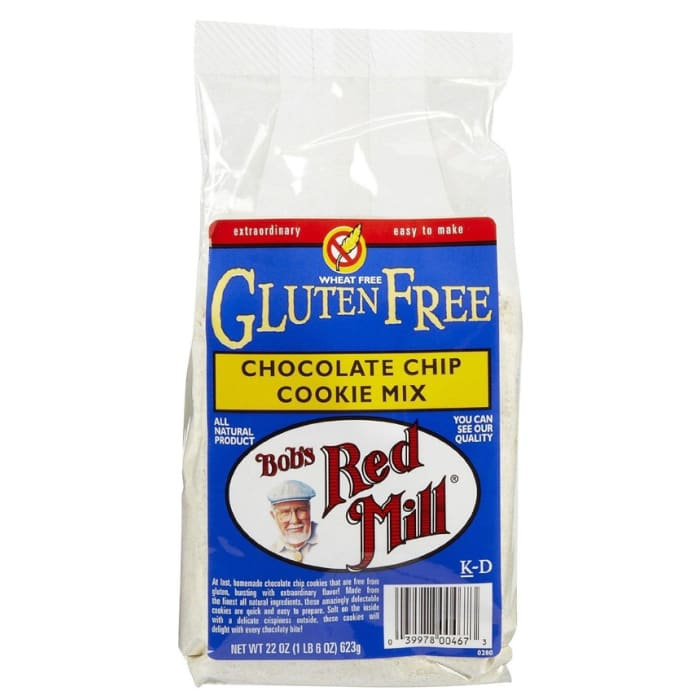 Bob's Red Mill Cookie Mix Chocolate Chip Gluten Free