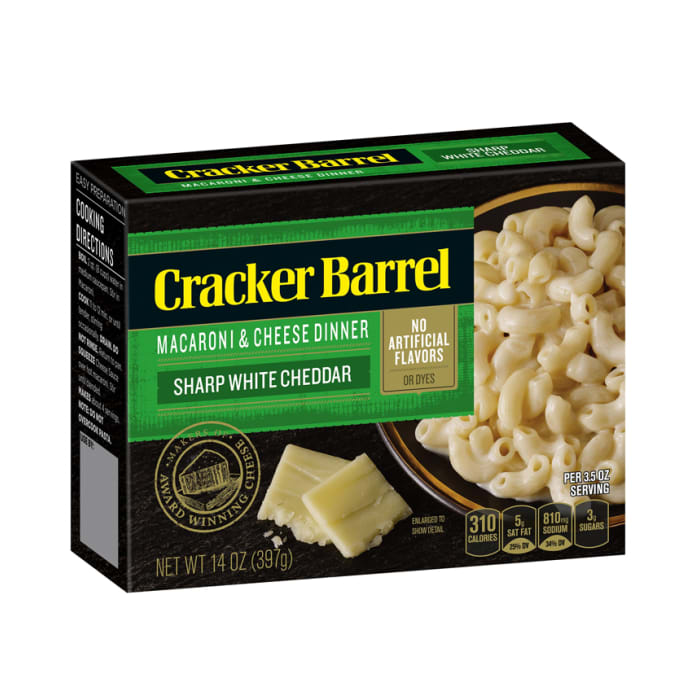 Cracker Barrel Macaroni and Cheese White Cheddar