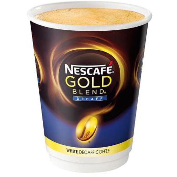 Nescafe Gold Blend white Decaff Coffee