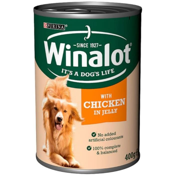 Winalot Chicken & Tripe Jelly Dog Food