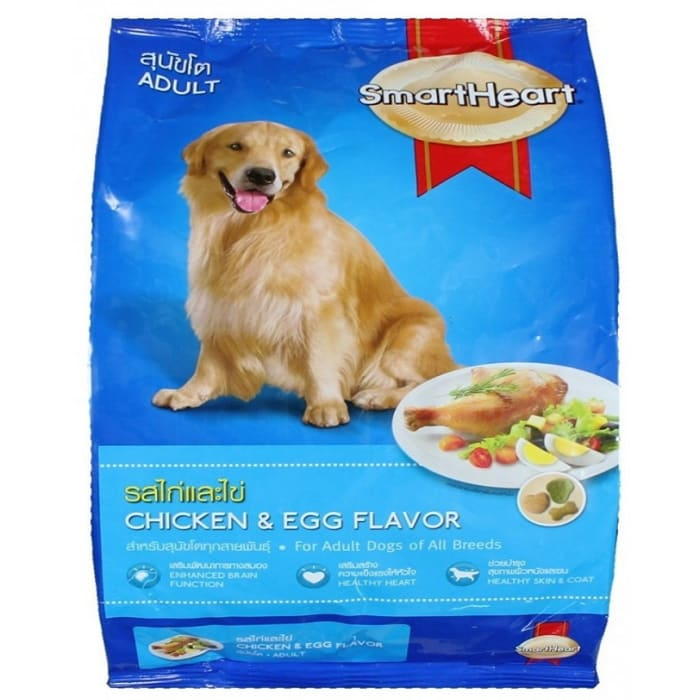 Smart Heart Chicken & Egg Flavour Adult Dog Food