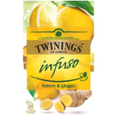 Twinings Infuso Lemon & Ginger 20 Tea Bags
