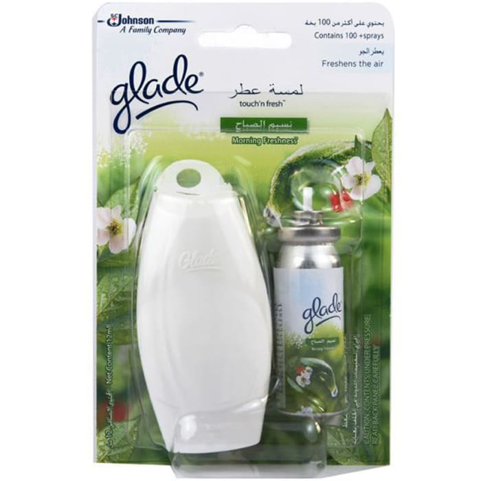 Glade Touch and Fresh Base Morning Air Freshener