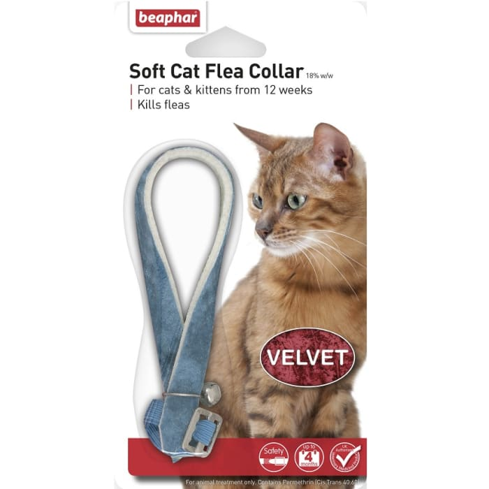 Beaphar Soft Cat Flea Collar Velvet