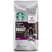Starbucks French Dark Roast Intense & Smoky Dark Whole Bean 100% Arabica Coffee 340 Grams
