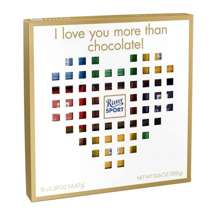 Ritter Sport Mini Gift Box Heart