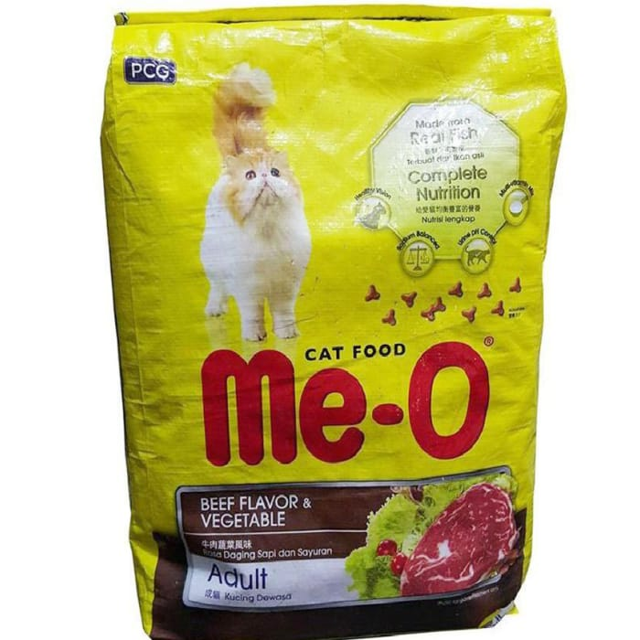 Me-O Beef & Vegetable Cat Food