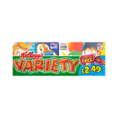 Kellogg's Cereal Variety Pack 190g