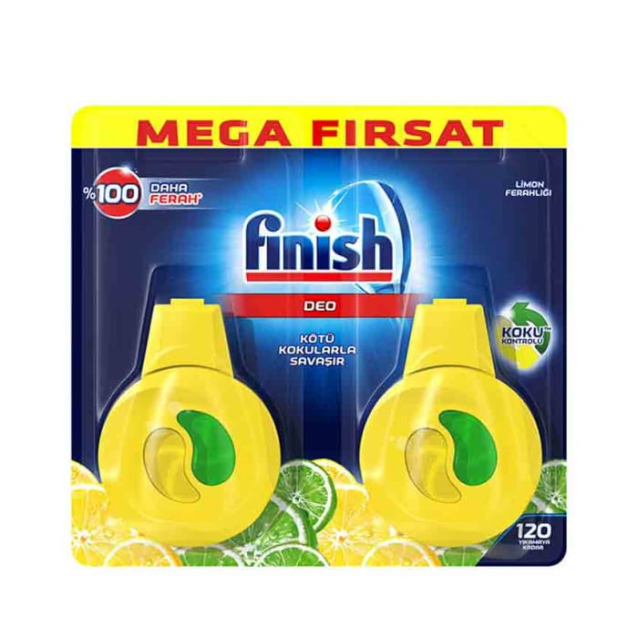 Finish Dishwasher Deo Lemon 4ml