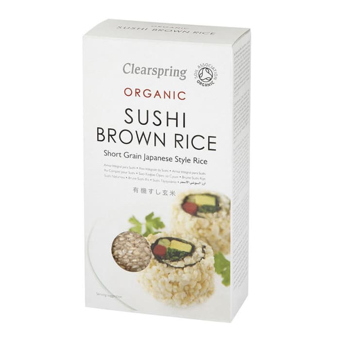 Clearspring  Brow Sushi Rice
