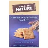 Back to Nature Harvest Whole Wheat Cracker 241g
