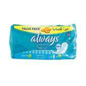 Always Sanitary Pads Ultra Thin Extra Long 14's