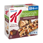 Kellogg's Special K Chewy Nut Bars 6s Chocolate Almond 198g