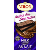 Valor Milk Lactose Free Chocolate Bar