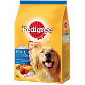 Pedigree Chicken & Vegetables Adult Dog Food 3Kg