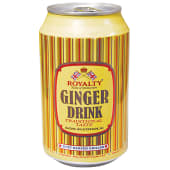 Royalty  Ginger Beer Can