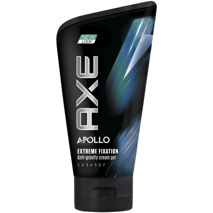 Axe Apollo Extreme Fixation Anti-Gravity Cream Gel