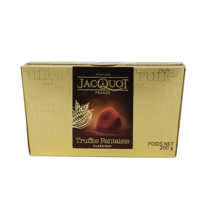 Jacquot Bitter Classic Dusted Truffles Chocolate