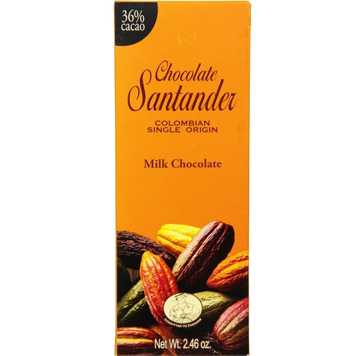 Santander Chocolate Bar 36% Milk
