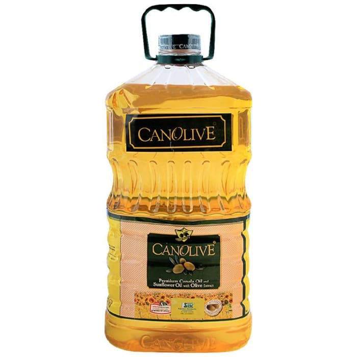 Canolive Cooking Oil Canola & Sunflower 5 Litre