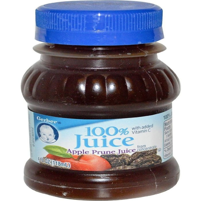 Gerber 100 Apple Prune Juice
