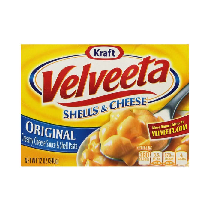 Kraft Velveeta Pasta Original Shells & Cheese