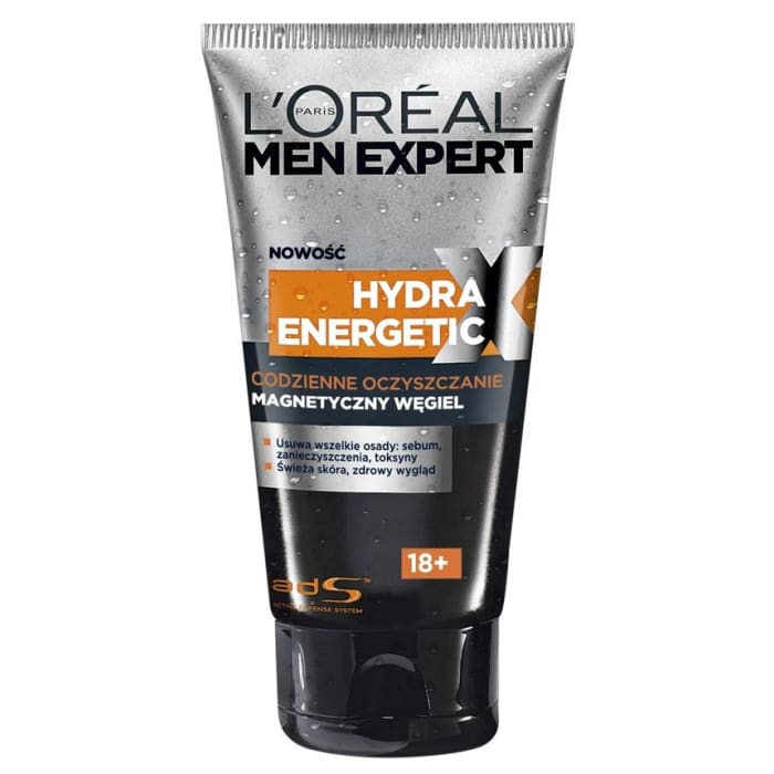 L'Oreal Magnetic Coal Cleansing Gel Men Expert Hydra Energetic