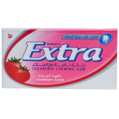 Wrigley's Extra Strawberry Sugar Free Bubblegum