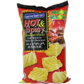 Miaow Flavoured Chips Hot & Spicy