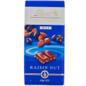 Lindt Swiss Classic Milk Chocolate Raisins with Roasted Nuts