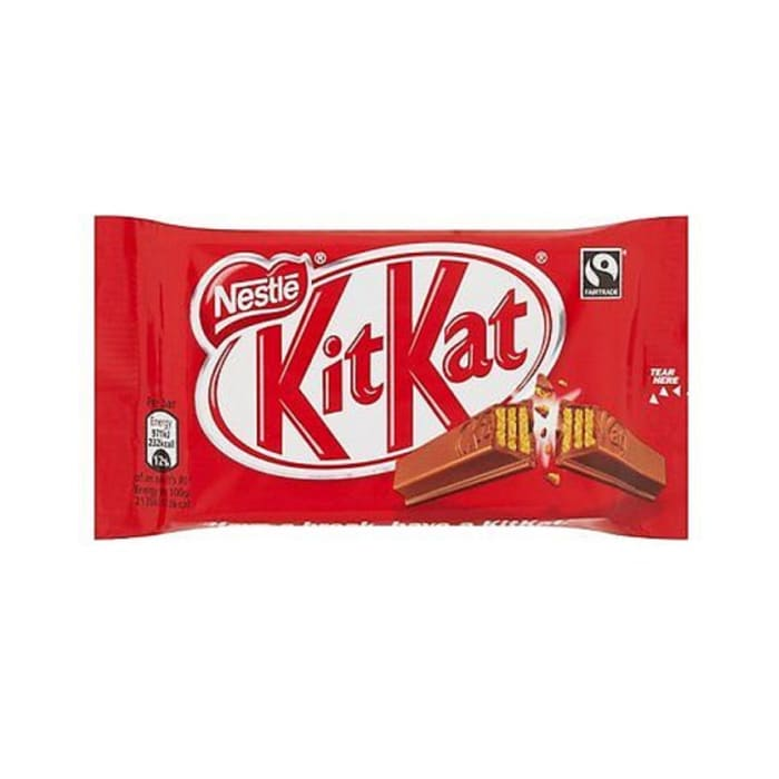 Nestle Kit Kat Chocolate 4 Finger