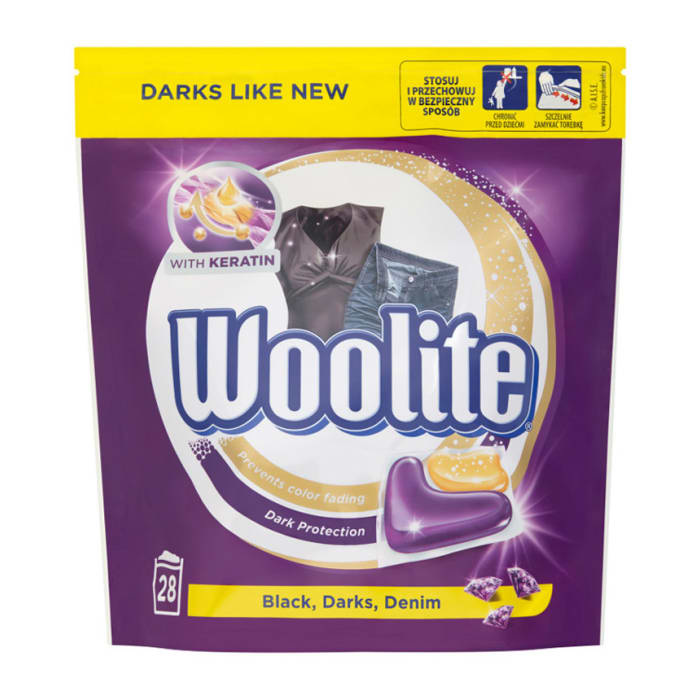 Woolite Capsules Black Dark & Denim 28s, 616g