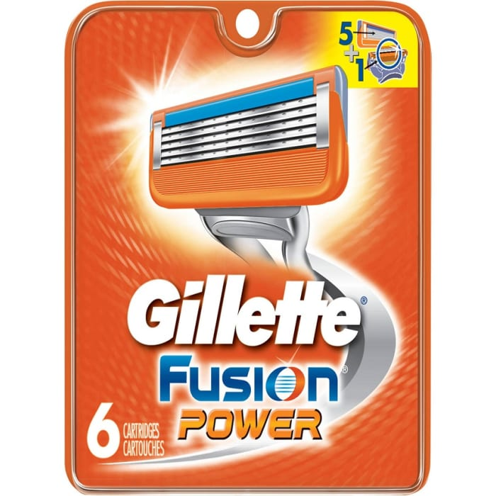 Gillette Fusion Power Blades