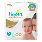 Pampers Premium Care Diapers Size 5 | 11-25 kgs | 48pcs