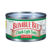 Bumble Bee Tuna Chunk Light In Vegetable Oil