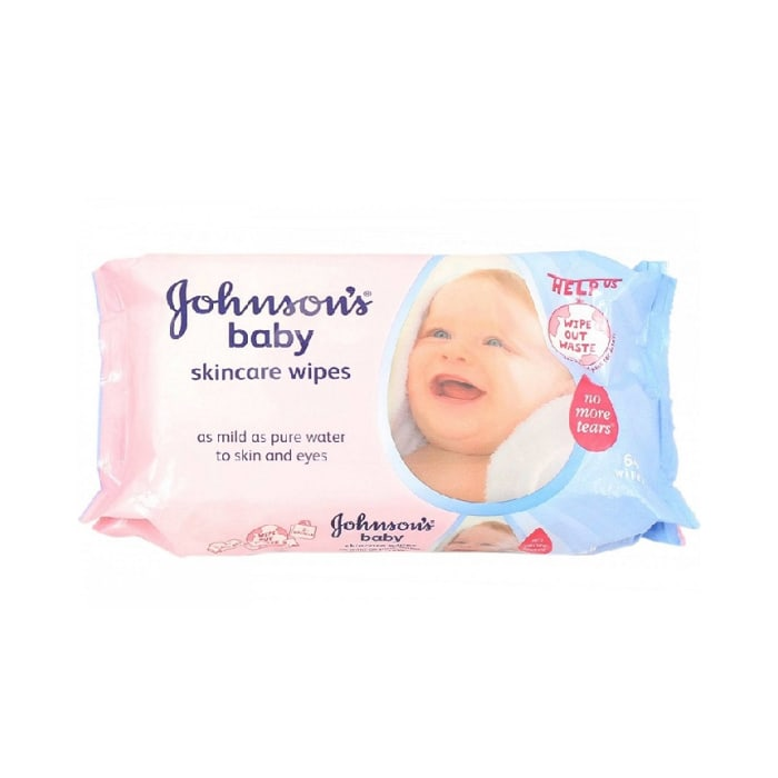 Johnson Baby Wipes Skincare