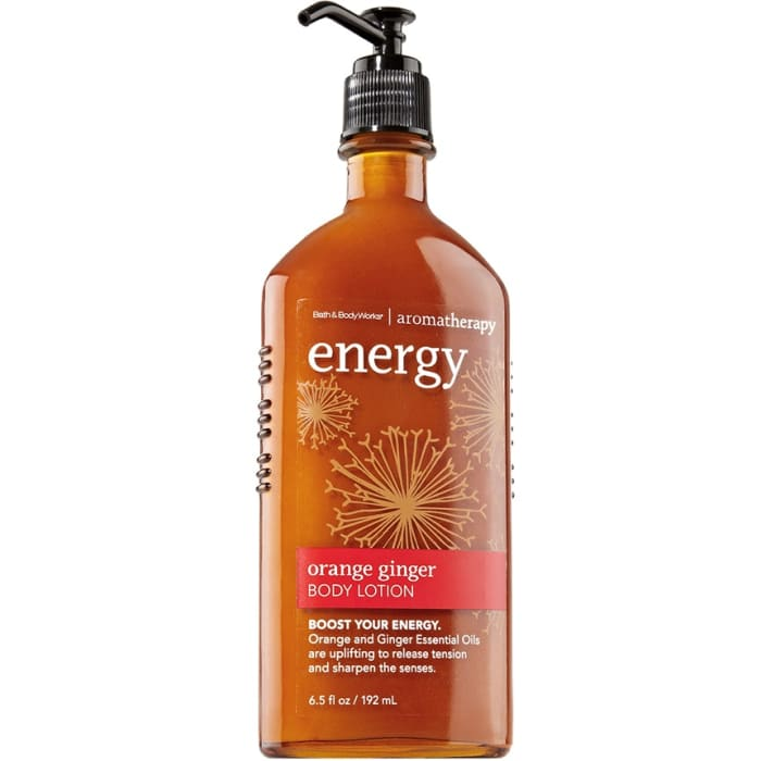 Bath And Body Works Aromatherapy Body Lotion Energy Orange Ginger
