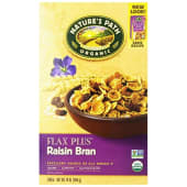 Natures Path Cereal Organic Raisin Bran Flax Plus 396g