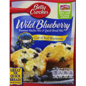 Betty Crocker  Muffin & Bread Mix Wild Blueberry