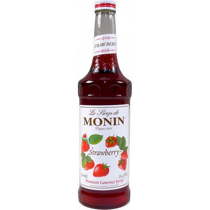 Monin Premium Strawberry Syrup 700ml