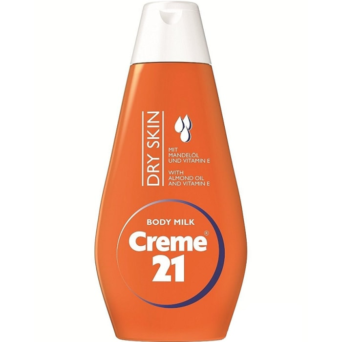 Creme 21 Body Milk For Dry Skin With Almond & Vitamin E