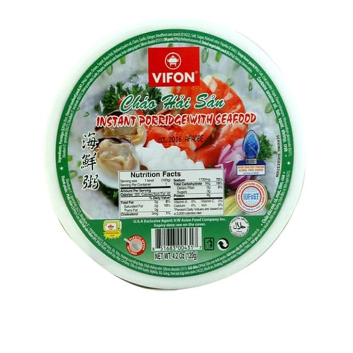 Vifon  Instant Porridge With Seafood