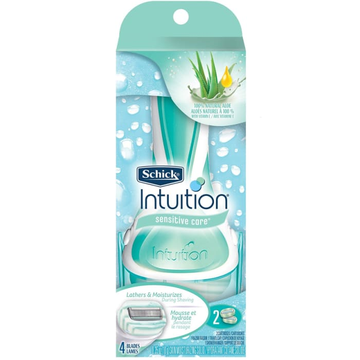 Schick Intuition Sensitive Care Razor for Women