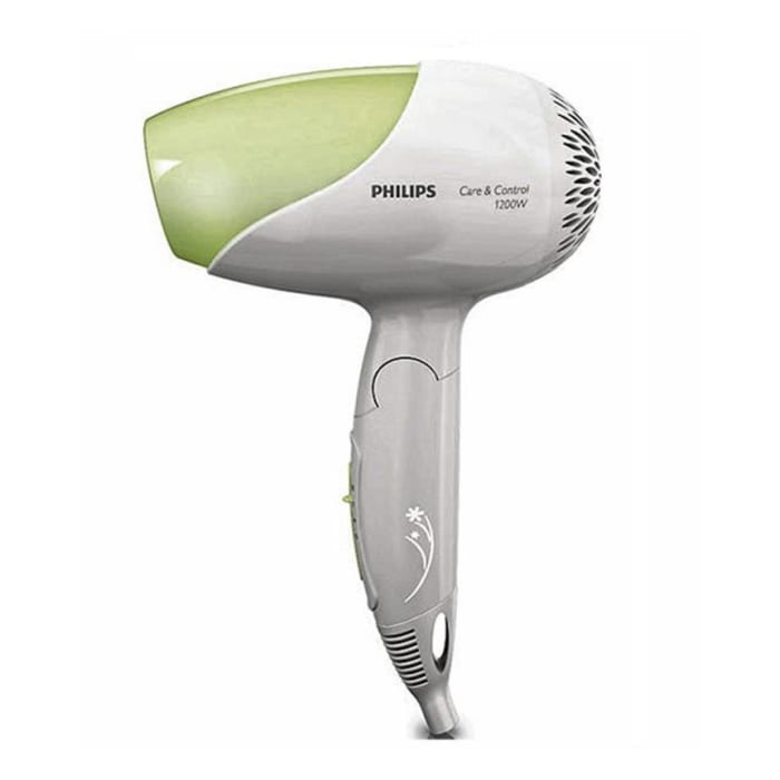 Philips 8115 - Hair Dryer - White and Green